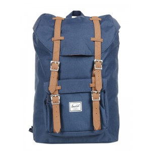 Herschel Sac à dos Little America Mid Volume navy/tan [ Soldes ]
