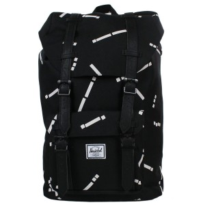Herschel Sac à dos Little America Mid Volume black code/black [ Promotion Black Friday 2020 Soldes ]