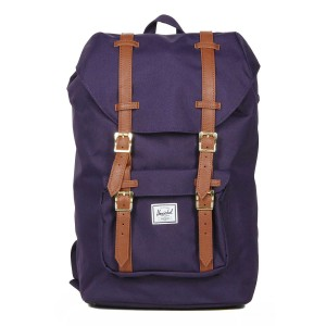 Herschel Sac à dos Little America Mid Volume purple velvet [ Promotion Black Friday 2020 Soldes ]