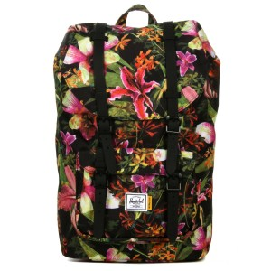 Herschel Sac à dos Little America Mid Volume jungle hoffman Pas Cher
