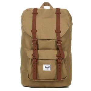 Herschel Sac à dos Little America Mid Volume kelp/saddle brown Pas Cher