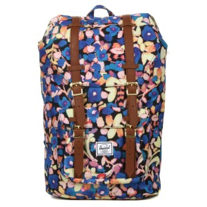 Herschel Sac à dos Little America Mid Volume painted floral [ Soldes ]
