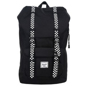 Herschel Sac à dos Little America Mid Volume black/checkerboard Pas Cher