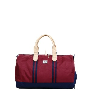 Herschel Sac de voyage Novel Offset 52 cm windsor wine/peacoat [ Soldes ]