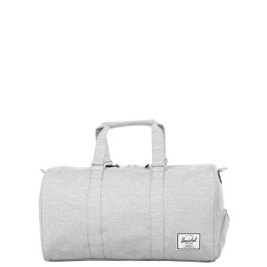 Herschel Sac de voyage Novel 52 cm light grey crosshatch Pas Cher