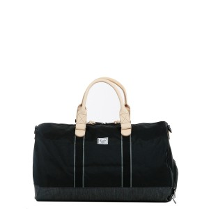 Herschel Sac de voyage Novel Offset 52 cm black/black denim [ Soldes ]