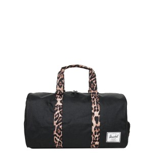 Herschel Sac de voyage Novel 52 cm black/desert cheetah [ Promotion Black Friday 2020 Soldes ]