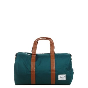 Herschel Sac de voyage Novel 52 cm deep teal/tan synthetic leather [ Soldes ]
