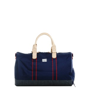 Herschel Sac de voyage Novel Offset 52 cm peacoat/dark denim [ Soldes ]