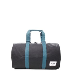 Herschel Sac de voyage Novel 52 cm black/deep teal [ Promotion Black Friday 2020 Soldes ]