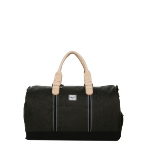Herschel Sac de voyage Novel Offset 52 cm black crosshatch/black [ Soldes ]