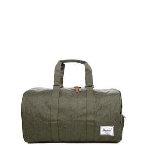 Herschel Sac de voyage Novel 52 cm olive night crosshatch/olive night Pas Cher