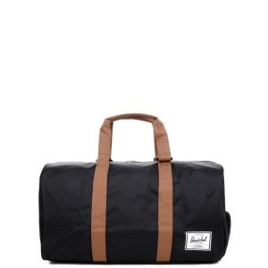 Herschel Sac de voyage Novel 52 cm black/saddle brown [ Promotion Black Friday 2020 Soldes ]