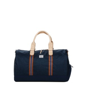 Herschel Sac de voyage Novel Offset 52 cm medieval blue crosshatch/medieval blue [ Soldes ]
