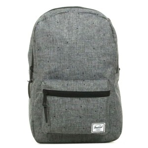 Herschel Sac à dos Settlement Mid Volume scattered raven crosshatch [ Promotion Black Friday 2020 Soldes ]