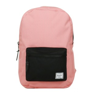 Herschel Sac à dos Settlement Mid Volume strawberry ice grid/black Pas Cher