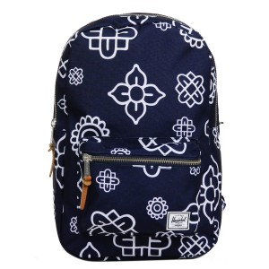 Herschel Sac à dos Settlement Mid Volume peacoat paisley [ Promotion Black Friday 2020 Soldes ]