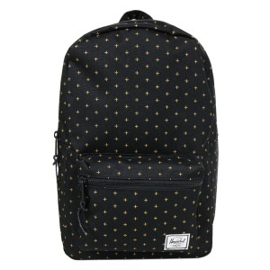 Herschel Sac à dos Settlement Mid Volume black gridlock gold [ Promotion Black Friday 2020 Soldes ]