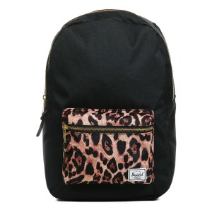 Herschel Sac à dos Settlement Mid Volume black/desert cheetah [ Promotion Black Friday 2020 Soldes ]