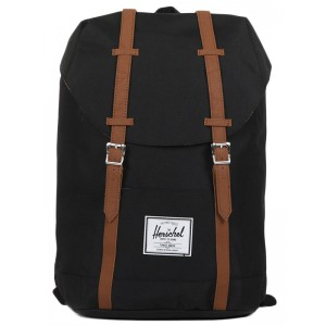 Herschel Sac à dos Retreat black/tan [ Soldes ]