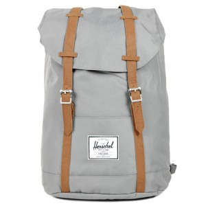 Herschel Sac à dos Retreat grey/tan [ Promotion Black Friday 2020 Soldes ]