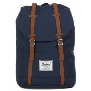 Herschel Sac à dos Retreat navy/tan Pas Cher