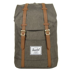 Herschel Sac à dos Retreat canteen crosshatch/tan [ Soldes ]