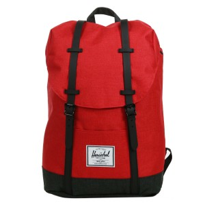 Herschel Sac à dos Retreat barbados cherry crosshatch/black crosshatch Pas Cher