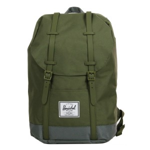 Herschel Sac à dos Retreat ivy green/smoked pearl Pas Cher