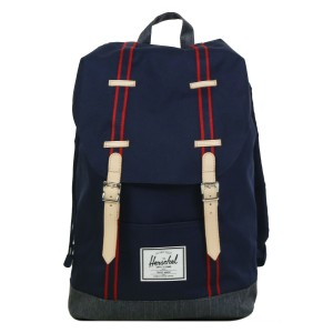 Herschel Sac à dos Retreat Offset peacoat/dark denim Pas Cher