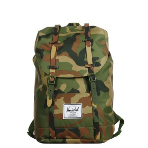 Herschel Sac à dos Retreat woodland camo Pas Cher