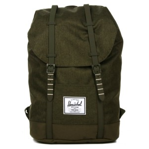 Herschel Sac à dos Retreat olive night crosshatch/olive night [ Soldes ]