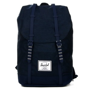 Herschel Sac à dos Retreat medievel blue crosshatch/medievel blue [ Soldes ]