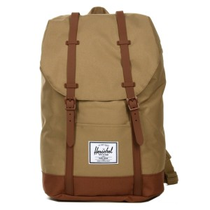Herschel Sac à dos Retreat kelp/saddle brown Pas Cher