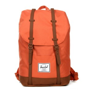 Herschel Sac à dos Retreat apricot brandy/saddle brown [ Soldes ]