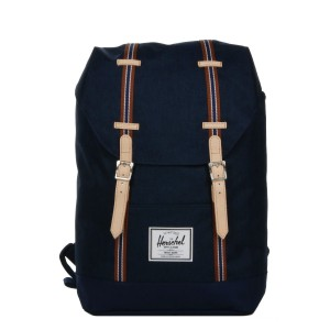 Herschel Sac à dos Retreat Offset medieval blue crosshatch/medieval blue Pas Cher