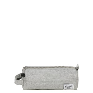 Herschel Trousse Settlement Case light grey crosshatch [ Promotion Black Friday 2020 Soldes ]
