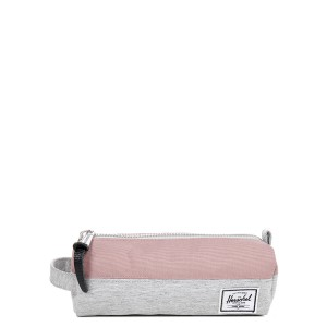 Herschel Trousse Settlement Case light grey crosshatch/ash rose [ Soldes ]