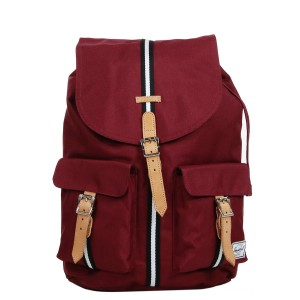 Herschel Sac à dos Dawson Offset windsor wine/veggie tan leather Pas Cher