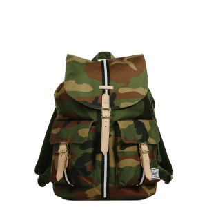 Herschel Sac à dos Dawson Offset woodland camo/black/white [ Promotion Black Friday 2020 Soldes ]