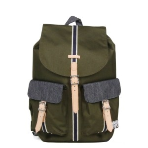 Herschel Sac à dos Dawson Offset forest night/ dark denim Pas Cher