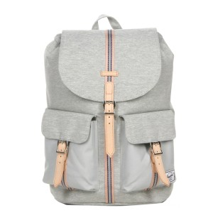 Herschel Sac à dos Dawson Offset light grey crosshatch/high rise Pas Cher