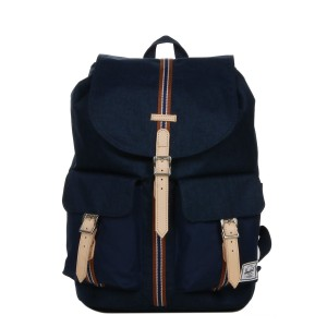 Herschel Sac à dos Dawson Offset medieval blue crosshatch/medieval blue [ Promotion Black Friday 2020 Soldes ]