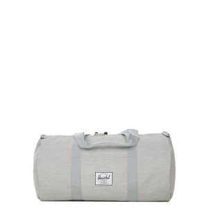 Herschel Sac de voyage Sutton Mid Volume 47.5 cm light grey crosshatch Pas Cher