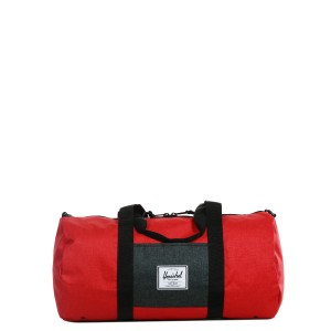 Herschel Sac de voyage Sutton Mid Volume 47.5 cm barbados cherry crosshatch/black crosshatch [ Soldes ]