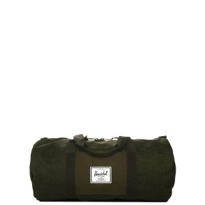 Herschel Sac de voyage Sutton Mid Volume 47.5 cm olive night crosshatch/olive night Pas Cher