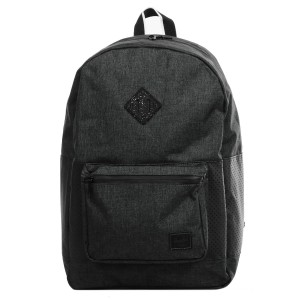 Herschel Sac à dos Ruskin Aspect black crosshatch/black/white Pas Cher