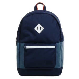 Herschel Sac à dos Ruskin Aspect peacoat/navy/vermillion orange Pas Cher