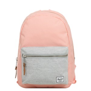 Herschel Sac à dos Grove X-Small peach/light grey crosshatch [ Soldes ]