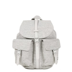 Herschel Sac à dos Dawson X-Small light grey crosshatch Pas Cher